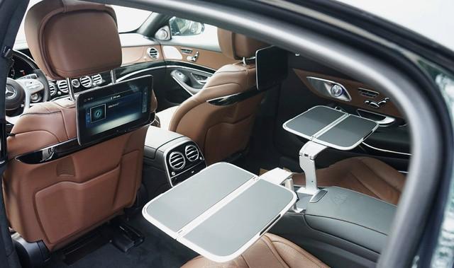 Lộ ảnh thực tế Mercedes-Maybach S450 2018 giá 7,219 tỷ tại Việt Nam - Ảnh 6.