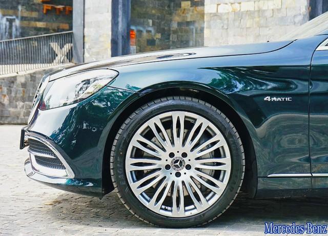 Lộ ảnh thực tế Mercedes-Maybach S450 2018 giá 7,219 tỷ tại Việt Nam - Ảnh 3.
