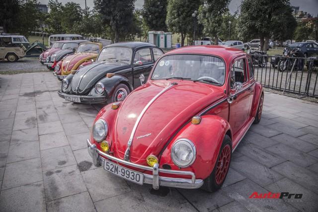 Chiêm ngưỡng dàn bọ già Volkswagen Beetle đủ sắc màu tại Hà Nội - Ảnh 5.