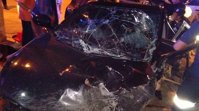 """Thái Lan: Nam giáo viên tử vong vì tai nạn giao thông khi đang làm """"chuyện ấy"""" trong xe Suzuki Swift"""