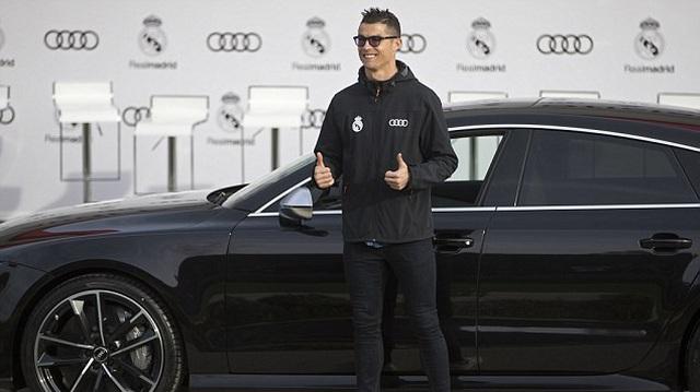 Cristiano Ronaldo và dàn sao Real Madrid được tặng xe sang Audi