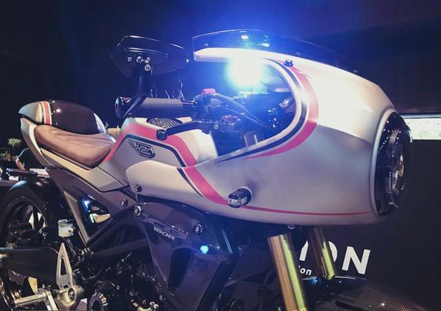 Cận cảnh phiên bản độ chính hãng của naked bike Honda CB150R ExMotion - Ảnh 2.