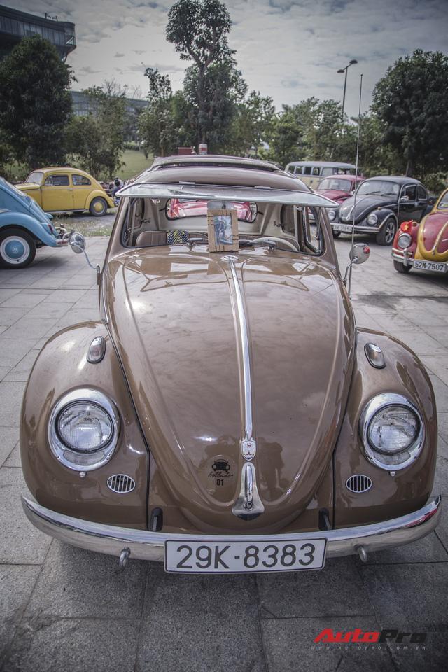 Chiêm ngưỡng dàn bọ già Volkswagen Beetle đủ sắc màu tại Hà Nội - Ảnh 6.