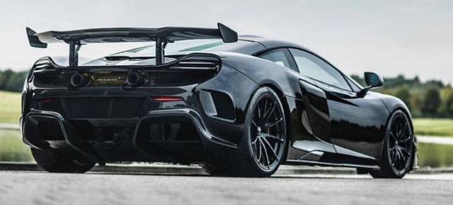 1 trong số 6 chiếc McLaren P1 LM được sản xuất trên thế giới bị bắt gặp tại London - Ảnh 5.