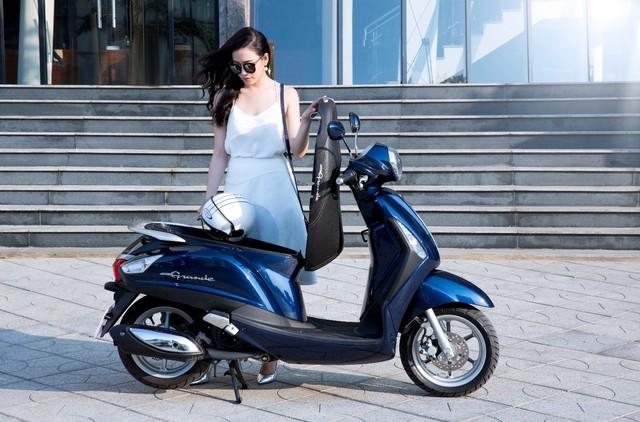 Yamaha Grande tung khuyến mại dụ phái nữ cuối năm - Ảnh 2.