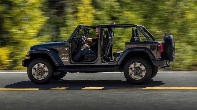 Jeep Wrangler 2018 dập tan mọi quan ngại từ người tiêu dùng