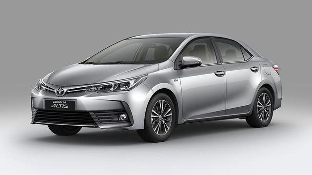 Toyota Corolla Altis 2017 chính thức được bày bán tại Việt Nam, giá từ 702 triệu Đồng