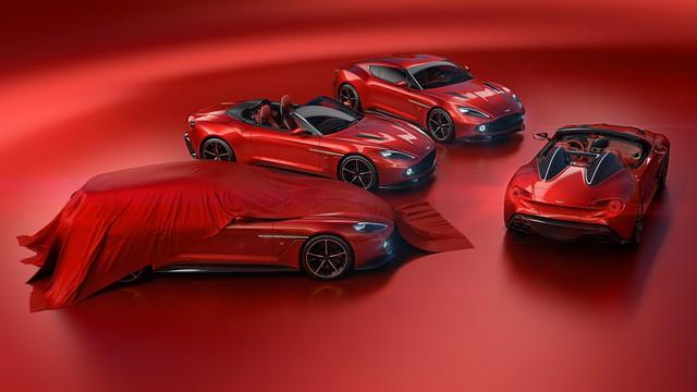 Aston Martin hé lộ thêm 2 phiên bản của dòng siêu xe cực hiếm Vanquish Zagato - Ảnh 1.