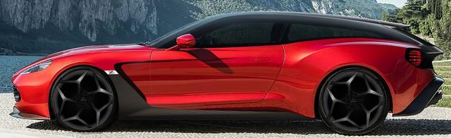 Aston Martin hé lộ thêm 2 phiên bản của dòng siêu xe cực hiếm Vanquish Zagato - Ảnh 2.