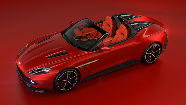 Aston Martin hé lộ thêm 2 phiên bản của dòng siêu xe cực hiếm Vanquish Zagato