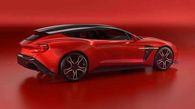Aston Martin Vanquish Zagato Shooting Brake: Xe vừa sang chảnh vừa thực dụng - Ảnh 1.