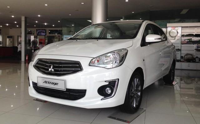 Quyết đấu Hyundai Grand i10, Mitsubishi Mirage và Attrage cắt giảm tối đa, hạ giá 40 triệu đồng - Ảnh 1.
