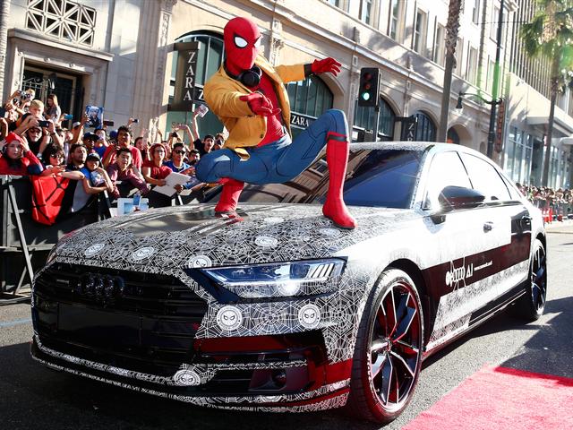 Người Nhện đã quảng cáo xe Audi như thế nào? - Ảnh 2.