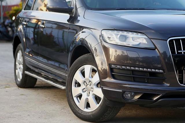 SUV hạng sang Audi Q7 sau 7 năm sử dụng giá ngang Toyota Fortuner mới - Ảnh 10.