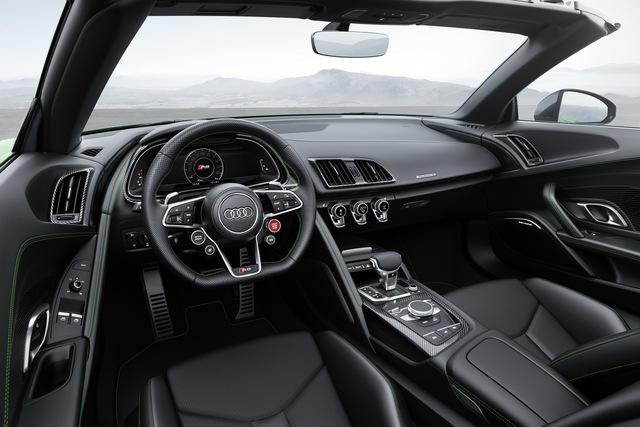 Audi R8 V10 Plus Spyder 2017 trình làng, độc quyền màu sơn, giá từ 5,3 tỷ Đồng - Ảnh 4.