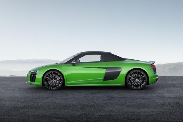 Audi R8 V10 Plus Spyder 2017 trình làng, độc quyền màu sơn, giá từ 5,3 tỷ Đồng - Ảnh 2.