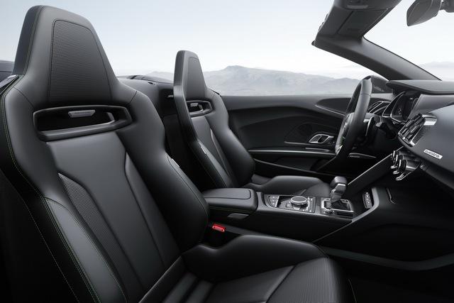 Audi R8 V10 Plus Spyder 2017 trình làng, độc quyền màu sơn, giá từ 5,3 tỷ Đồng - Ảnh 9.