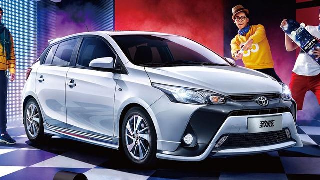 Toyota Yaris L 2017 với thiết kế khác xe ở Việt Nam trình làng