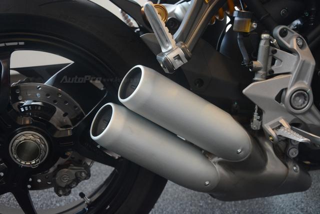 Cận cảnh Ducati SuperSport 2017 phiên bản S có giá 571 triệu Đồng - Ảnh 21.