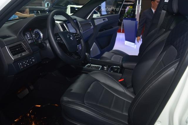 SsangYong G4 Rexton 2018 có gì hot để cạnh tranh cùng Toyota Fortuner - Ảnh 12.