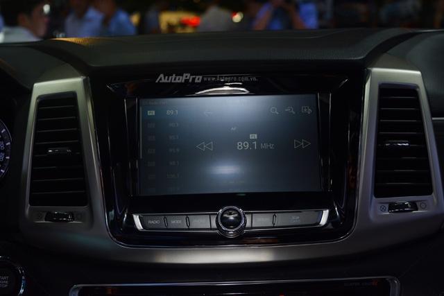 SsangYong G4 Rexton 2018 có gì hot để cạnh tranh cùng Toyota Fortuner - Ảnh 13.
