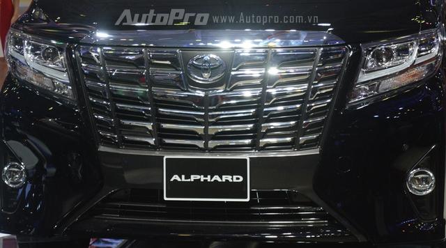 Chi tiết chuyên cơ mặt đất Toyota Alphard phân phối chính hãng 3,533 tỷ Đồng - Ảnh 6.
