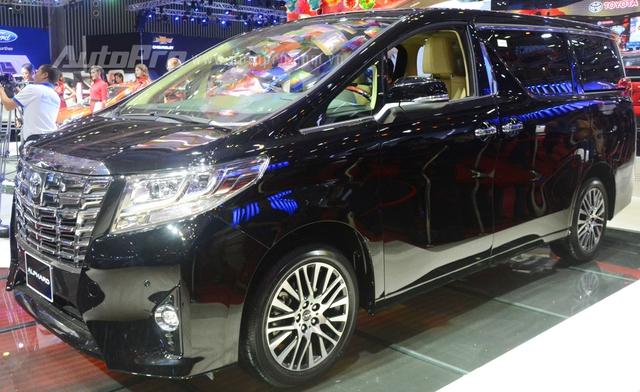 Chi tiết chuyên cơ mặt đất Toyota Alphard phân phối chính hãng 3,533 tỷ Đồng - Ảnh 3.