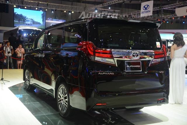 Chi tiết chuyên cơ mặt đất Toyota Alphard phân phối chính hãng 3,533 tỷ Đồng - Ảnh 2.