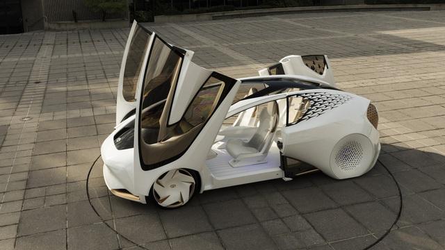 Toyota Concept-i - Xe ý tưởng siêu độc đáo