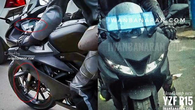 Yamaha R15 3.0 2017 tiếp tục lộ diện với những trang bị mới
