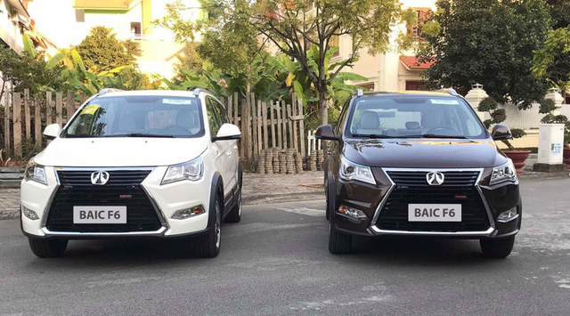 BAIC F6 - xe nhái Lexus có mặt tại Hà Nội với giá chưa đến 600 triệu đồng - Ảnh 1.