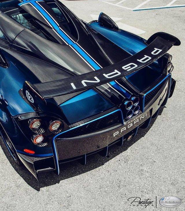 Kris Singh tiếp tục tậu siêu xe hàng hiếm Pagani Huayra BC trị giá 57 tỷ Đồng - Ảnh 3.