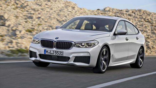 BMW 6-Series Gran Turismo 2018 - Xe sang công nghệ cao và tiện dụng