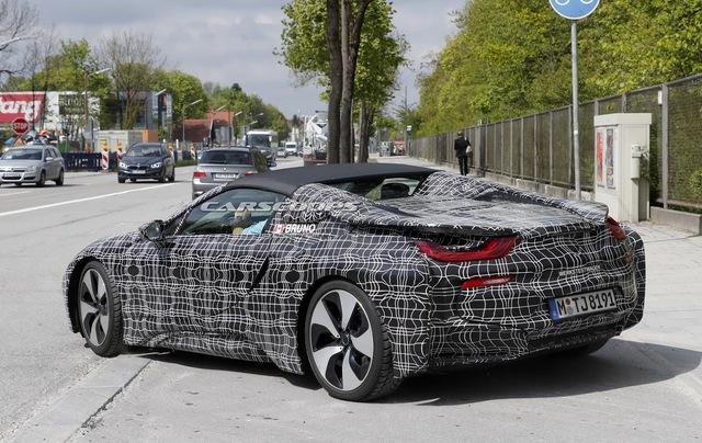 Phiên bản mui trần của hàng hot BMW i8 tại thị trường Việt Nam dự kiến sẽ ra mắt vào tháng 11 - Ảnh 4.