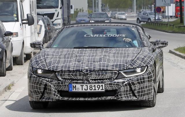 Phiên bản mui trần của hàng hot BMW i8 tại thị trường Việt Nam dự kiến sẽ ra mắt vào tháng 11 - Ảnh 8.