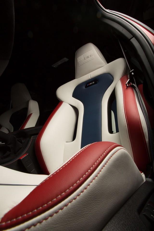 Làm quen với chiếc BMW M3 có một không hai với màu sơn đỏ nhám lạ mắt - Ảnh 12.