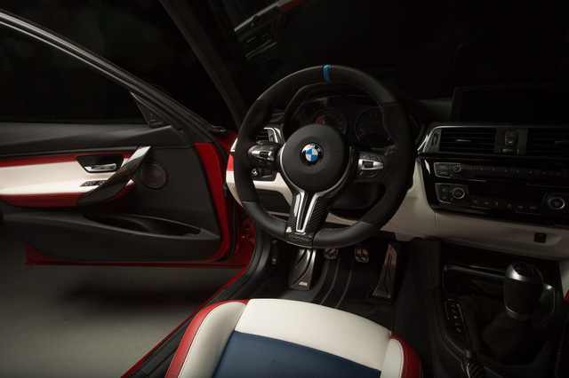 Làm quen với chiếc BMW M3 có một không hai với màu sơn đỏ nhám lạ mắt - Ảnh 8.