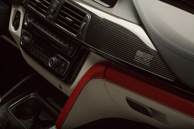 Làm quen với chiếc BMW M3 có một không hai với màu sơn đỏ nhám lạ mắt - Ảnh 10.