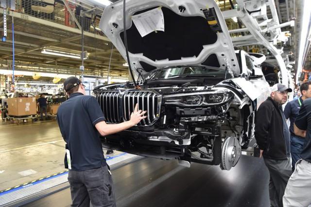 SUV đầu bảng BMW X7 lộ diện bản sản xuất trước khi ra mắt - Ảnh 3.
