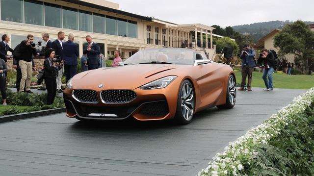 Chiêm ngưỡng vẻ đẹp của BMW Z4 Concept ngoài đời thực