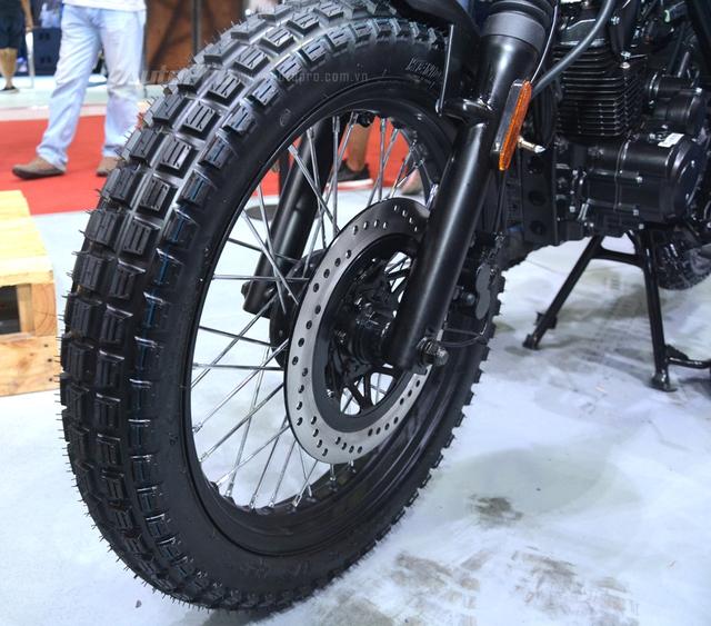 Soi Brixton BX Scrambler giá từ 50 triệu Đồng đang khiến nhiều biker Việt phát thèm - Ảnh 20.