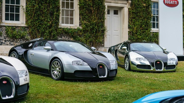 Binh đoàn gần 10.000 mã lực của Bugatti đại náo tại lễ hội Goodwood 2017 - Ảnh 2.