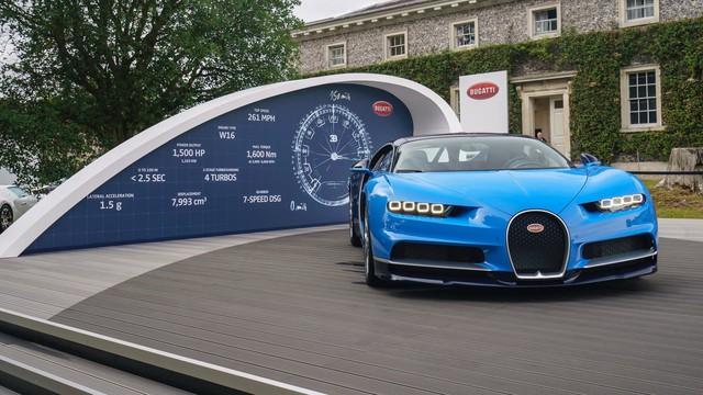 Binh đoàn gần 10.000 mã lực của Bugatti đại náo tại lễ hội Goodwood 2017 - Ảnh 3.