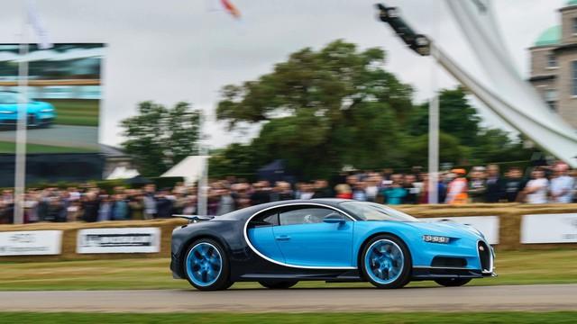 Binh đoàn gần 10.000 mã lực của Bugatti đại náo tại lễ hội Goodwood 2017 - Ảnh 4.