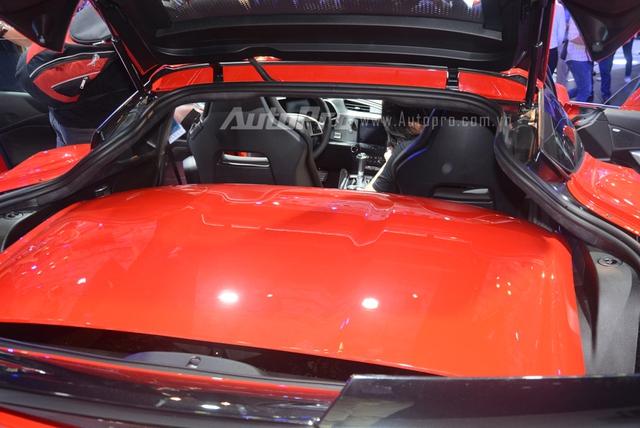 Chevrolet Corvette Grand Sport 2017: Hồn Z06, tim bản tiêu chuẩn Stingray - Ảnh 16.