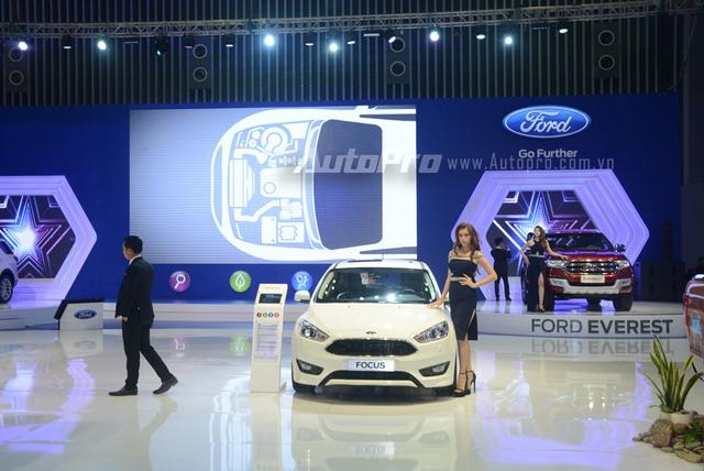 Trực tiếp: Ford Việt Nam là gian hàng duy nhất không đem đến sản phẩm mới nào - Ảnh 3.