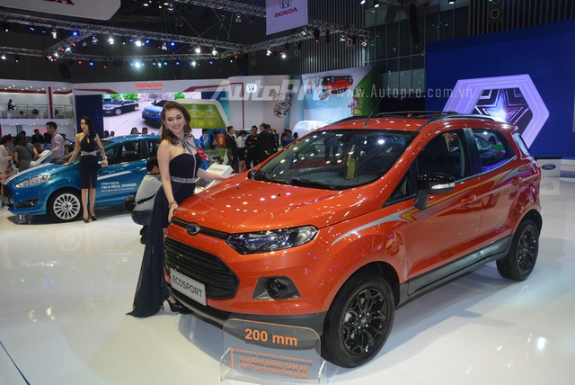 Trực tiếp: Ford Việt Nam là gian hàng duy nhất không đem đến sản phẩm mới nào - Ảnh 2.