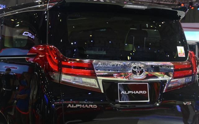 Chi tiết chuyên cơ mặt đất Toyota Alphard phân phối chính hãng 3,533 tỷ Đồng - Ảnh 8.