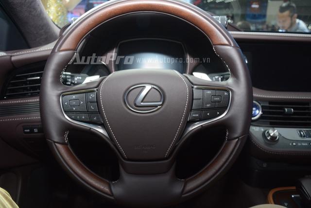 Khám phá Lexus LS 500h 2018, ngập tràn công nghệ, thiết kế đẹp mắt, tiết kiệm nhiên liệu - Ảnh 20.