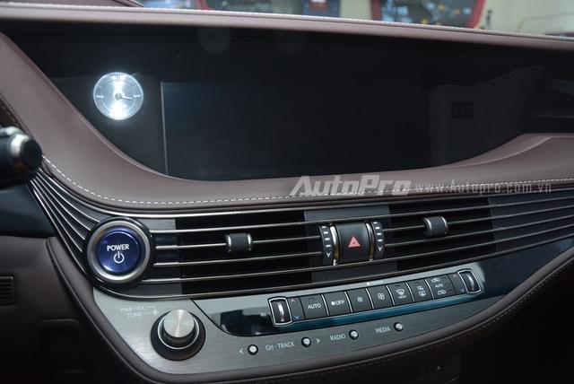 Khám phá Lexus LS 500h 2018, ngập tràn công nghệ, thiết kế đẹp mắt, tiết kiệm nhiên liệu - Ảnh 19.